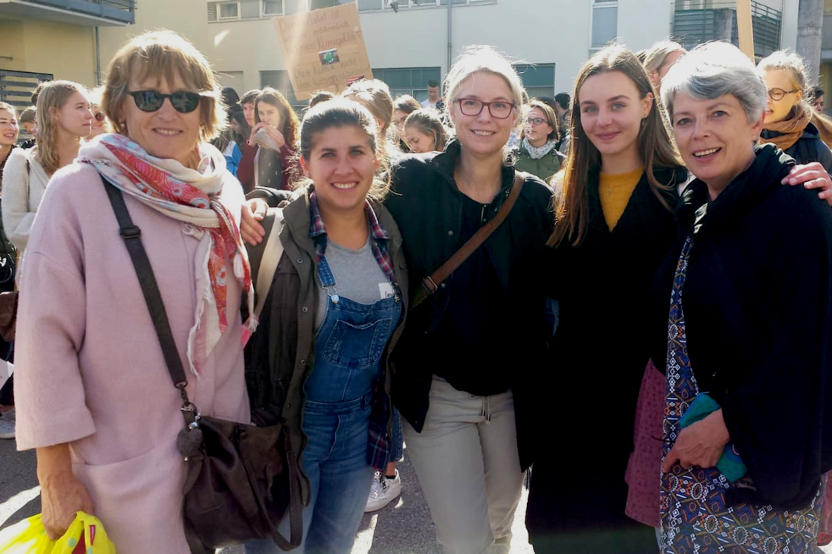 WeltPartner-Team beim Globalen Klimastreik am 20. September 2019